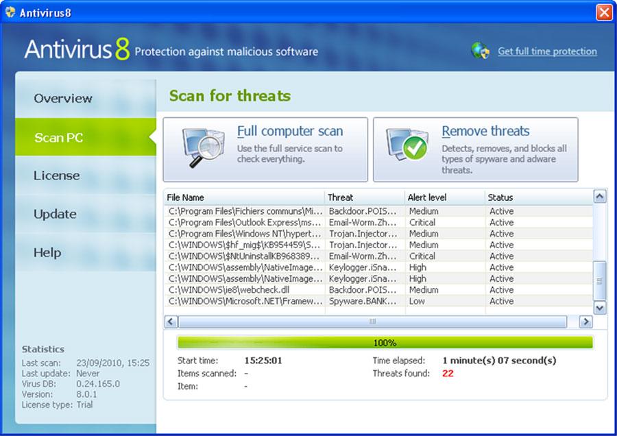 antivirus8c